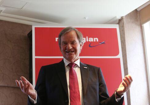 Norwegian Air Shuttle Chief Executive Officer Bjoern Kjos