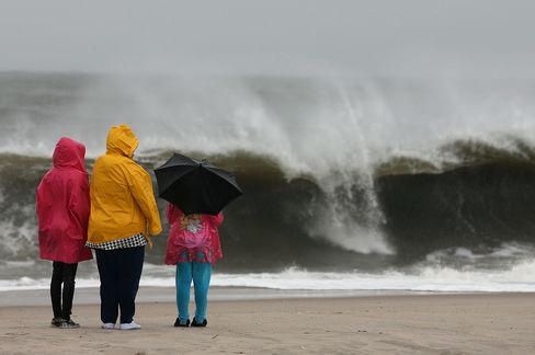Hurricane Sandy May Push Record Storm Surge Into Manhattan