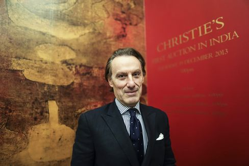 Christie's Chief Executive Officer Steven Murphy