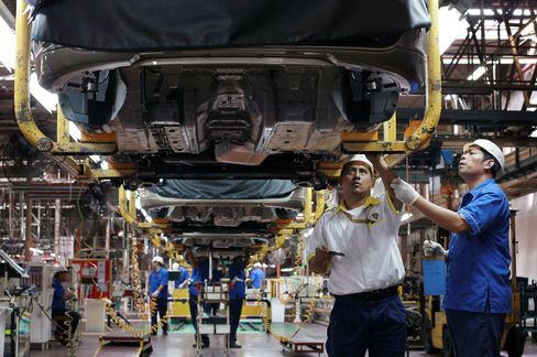 Global Manufacturing Displays Resilience to Euro Crisis