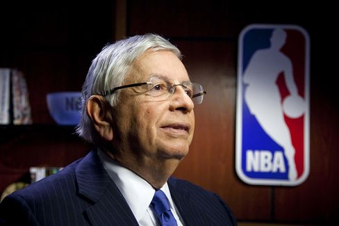 National Basketball Association Commissioner David Stern
