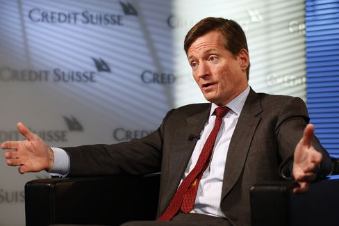 Credit Suisse Group AG. CEO Brady Dougan