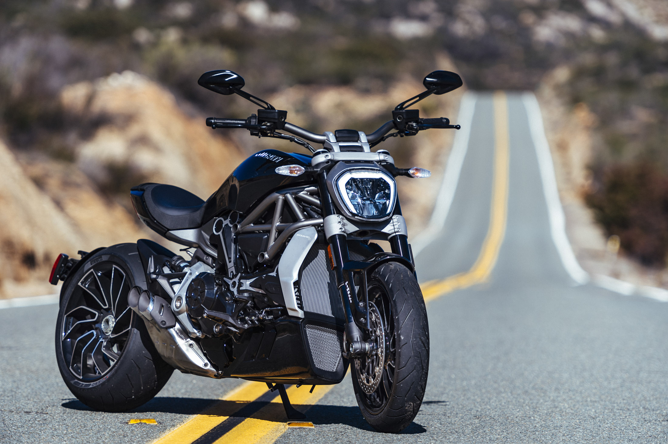 The Ducati XDiavel is the Italian superbike maker's first feet-forward cruiser. Source: Ducati