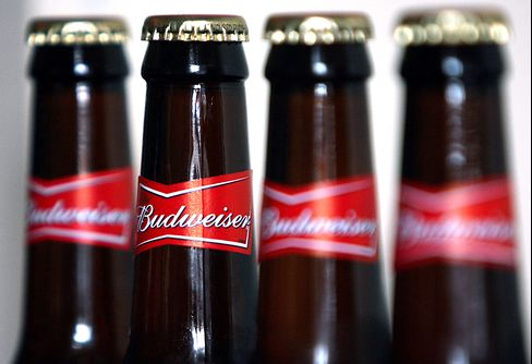 AB InBev Sued Over Claim Budweiser Overstated Alcohol Level