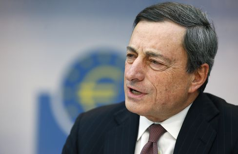 Draghi Signals ECB to Keep Policy Loose, Ease Again if Needed
