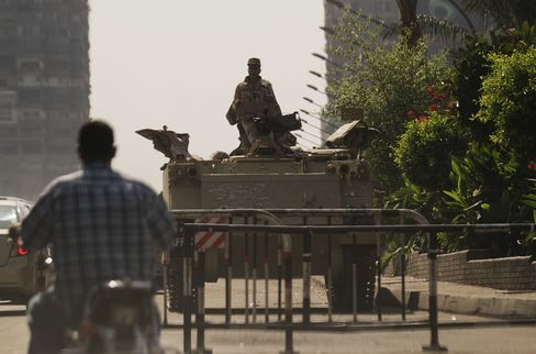 Egyptian Stocks Fall Most Since June as Violence Sparks Protests