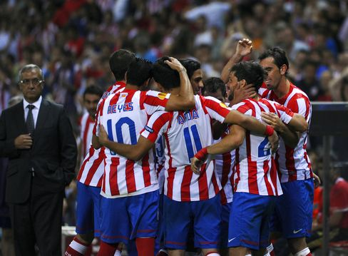 Atletico Beats Celtic in Europa League