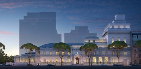 Elevation of Frick Collection