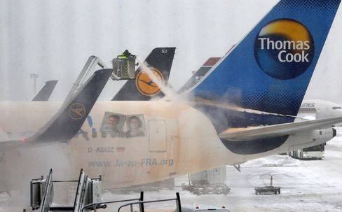 Frankfurt Airport Expects Cancellations to Ease Throughout Day