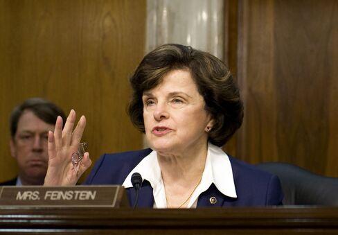 U.S. Senator Dianne Feinstein