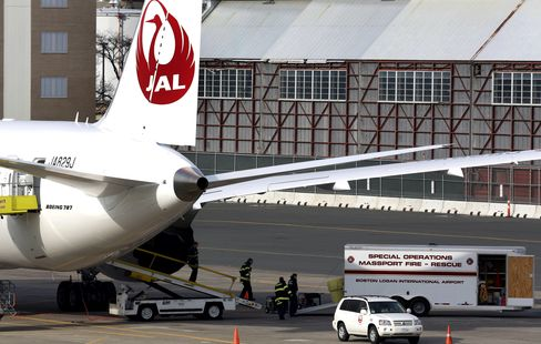 Japan Airlines Probes Dreamliner Fuel Leak as FAA Holds Review