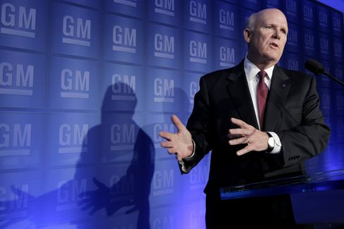 Akerson Demands GM Innovation to Guard Against Musk Effect
