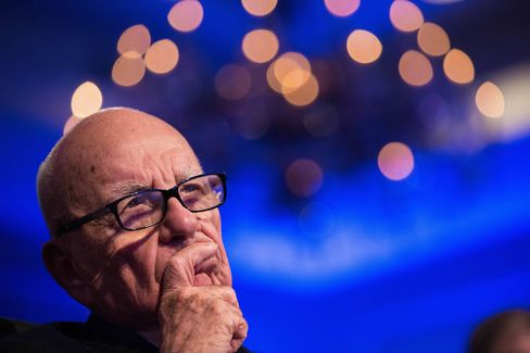 21st Century Fox chairman Rupert Murdoch