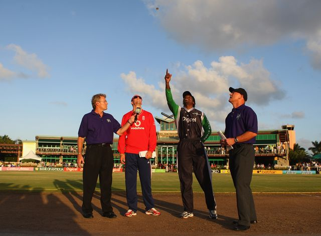 There's a cricket ground in Antigua that could probably use a new owner. Photographer: Tom Shaw/Getty Images