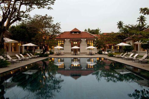Amantanka Resort in Laos