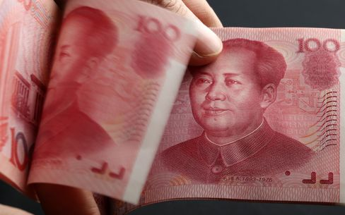 Yuan Forwards Near Record High Amid Band Widening Speculation