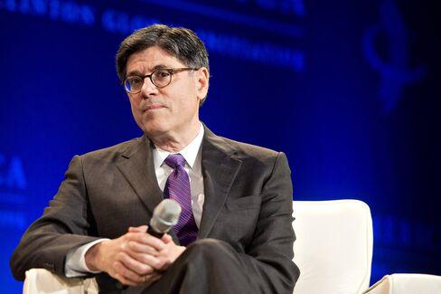 Wall Street Sees Debt-Limit Talks Past Lew's Mid-October Target