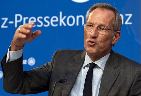 Allianz SE Chief Executive Officer Michael Diekmann