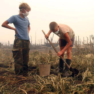 The Russian drought shows no signs of easing