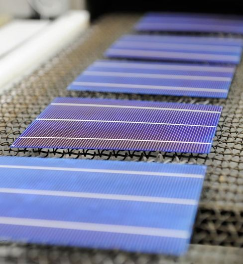 Solar-Cell Prices Fall on Subsidy Cuts