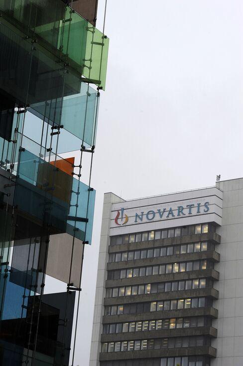 Novartis AG Headquarters in Basel