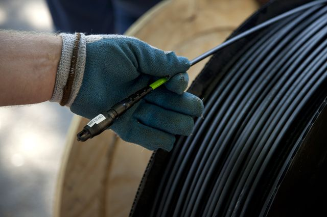 This cable could change your Internet life.Photographer: Ariana Lindquist/Bloomberg