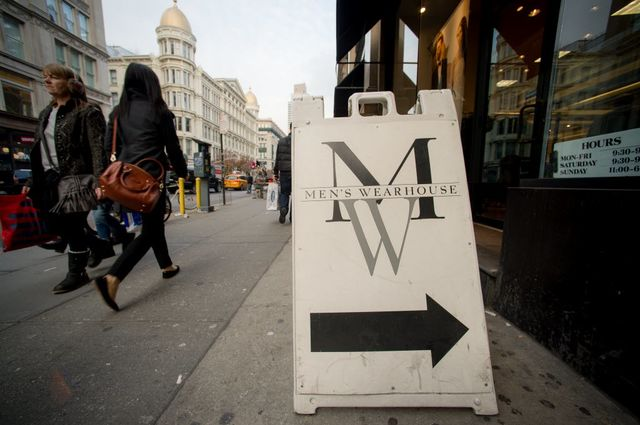 Or turn left for Eddie Bauer I guess.Photographer: Craig Warga/Bloomberg