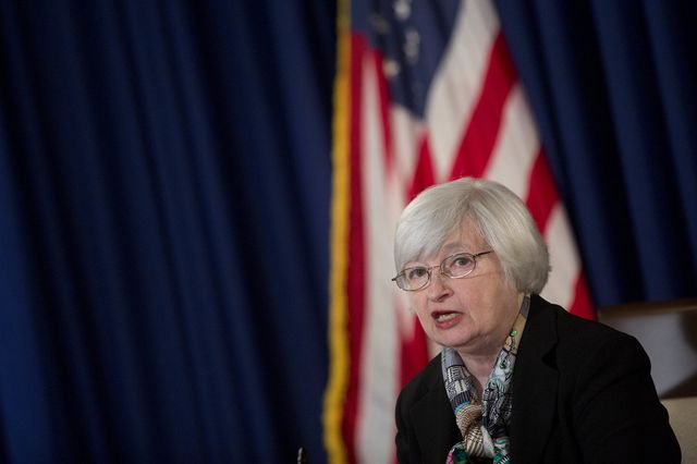 No sudden moves from Fed Chair Janet Yellen. Photographer: Andrew Harrer/Bloomberg