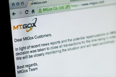 Mt. Gox Website