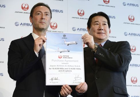 Airbus Secures First Japan Air Plane Order in Blow to Boeing