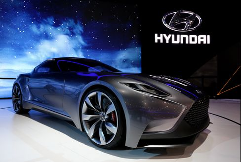 Hyundai Motor Reports First-Quarter That Beats Analyst Estimates