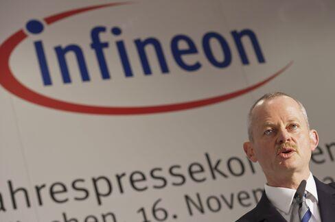Infineon Technologies AG CEO Peter Bauer