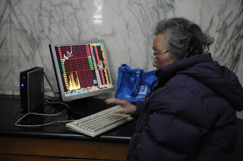 China's Stocks Drop as Insurers Retreat After Sichuan Earthquake