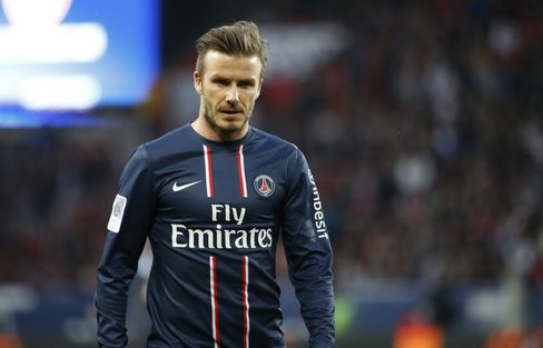 Soccer Player David Beckham