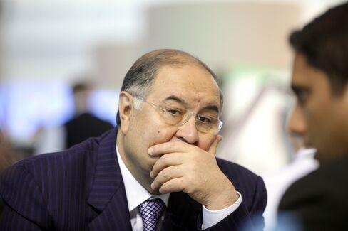 Billionaire Alisher Usmanov