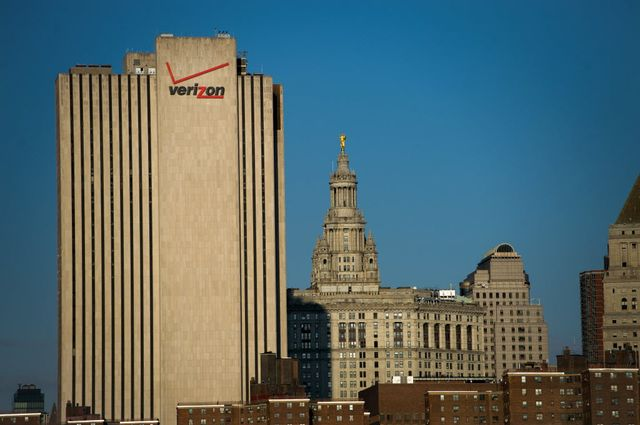 Verizon: Attractive bond deal, ugly building.Photographer: Ron Antonelli/Bloomberg