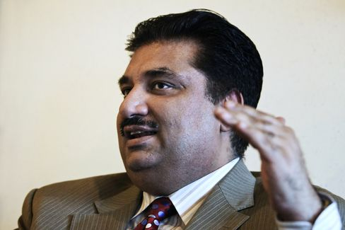 Pakistan's Privatization Minister Khurram Dastgir Khan