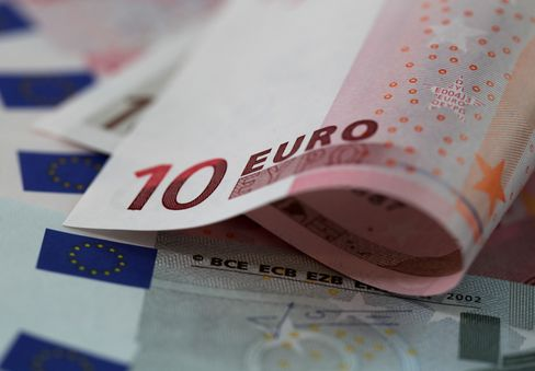 Stocks, Euro Gain After Debt Sales