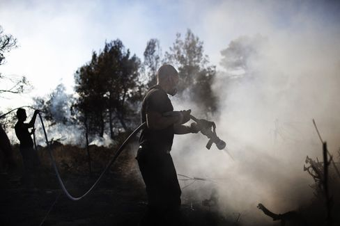 Israeli Forest Fire Almost Extinguished