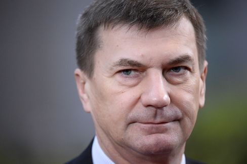 Estonian Prime Minister Andrus Ansip