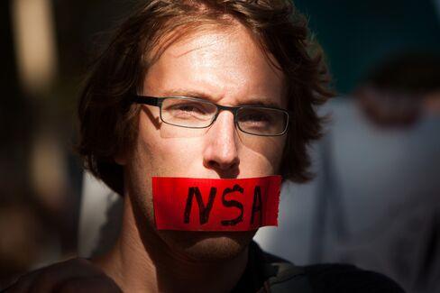 NSA Protester