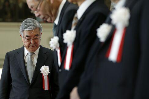 Japan Exchange CEO Atsushi Saito