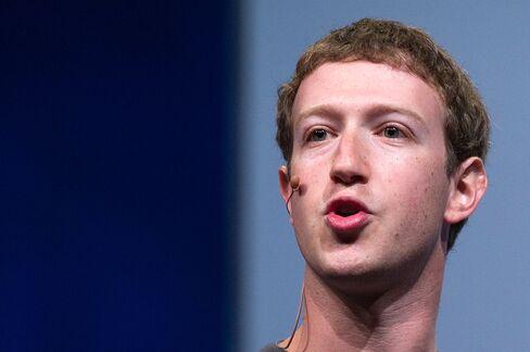 Facebook Inc. CEO Zuckerberg