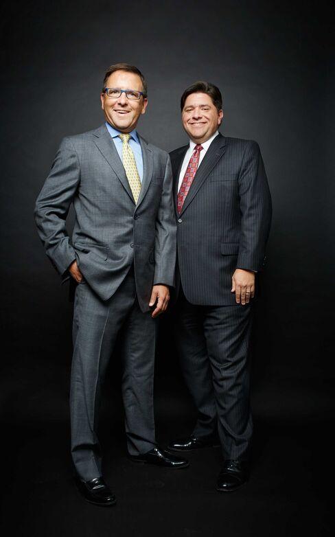 Brothers Tony and J.B. Pritzker Head Pritzker Group