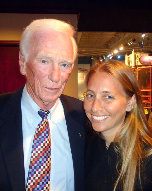 Gene Cernan and Gaelin Rosenwaks