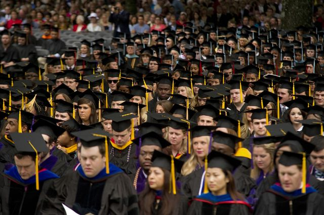The faces of higher education.Photographer: Brandon Dill/For The Washington Post via Getty Images