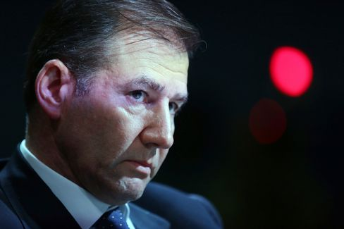Glencore Xstrata Plc Chief Executive Officer Ivan Glasenberg