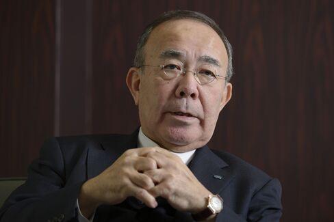 Kubota Corp. Chairman and President Yasuo Masumoto