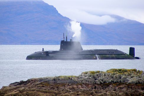 U.K. Nuclear Submarine Runs Aground Off Scottish Isle of Sky