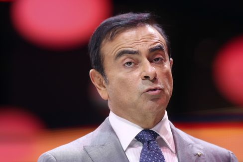 Renault Chief Executive Officer Carlos Ghosn